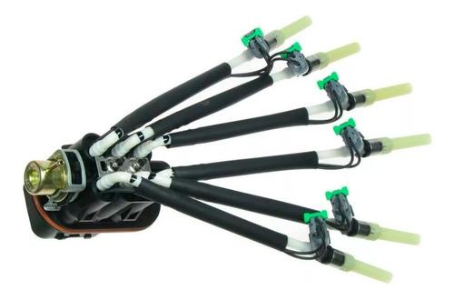 Bico Injetor Aranha Completa S10 Blazer 4.3  Delphi Standard