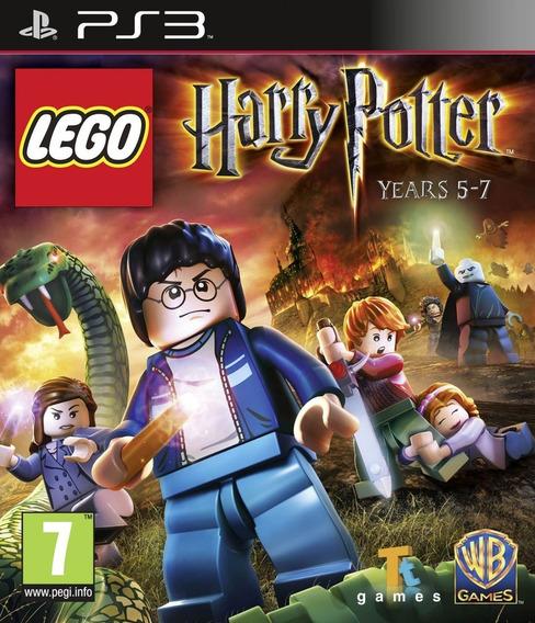 Lego Harry Potter: Years 5-7 - Ps3 - Mídia Física, Lacrado