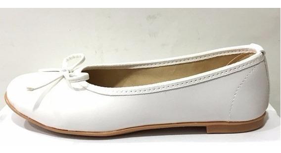 Zapatos Balerinas Para Comunion N° 32 Al 40 Mundo Ukelele