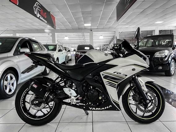 Yamaha R3 Ano 2018 Baixo Km Moto Impecável Financiamos