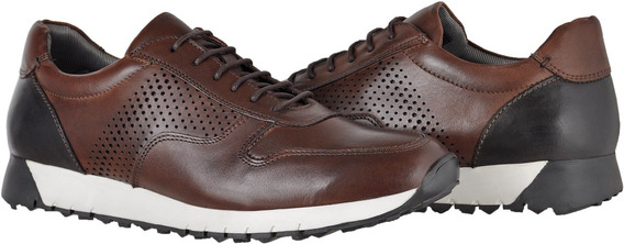 Sapatênis Tênis Casual Masculino Couro 32416 Dell Wolker