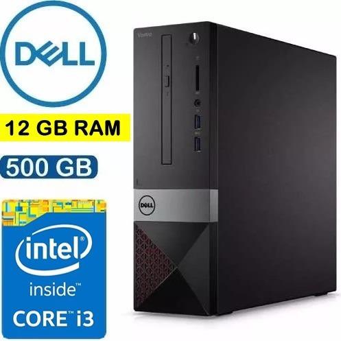 Computador Dell Completo /i3-7100/ Hd 500gb/ 12gb Wi-fi/hdmi