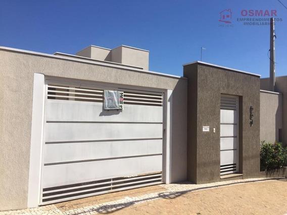 Casa Com 3 Dormitórios À Venda Por R$ 530.000,00 - Jardim Alvorada - Sumaré/sp - Ca0300