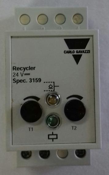 Relé Temporizador Carlo Gavazzi 3159 ( Novo )