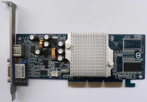 Tarjeta De Video 64mb Agp Nvidia Geforce Como Nueva