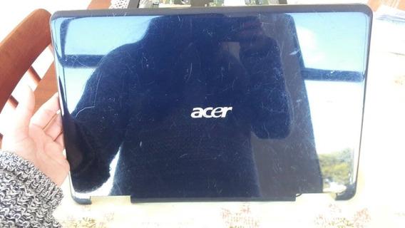 Tampa Da Tela Notebook Acer Aspire 5532 5516 Original / Azul