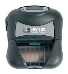 Impressora Zebra Rw420 Bluetooth Wifi Top