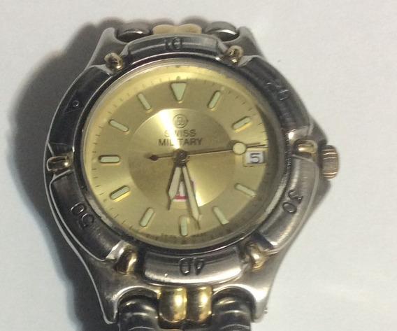 Relógio Swiss Military Especial E Raro