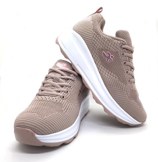 Zapatillas Mujer C/plataforma, P/adelgazar No Perfect Steps
