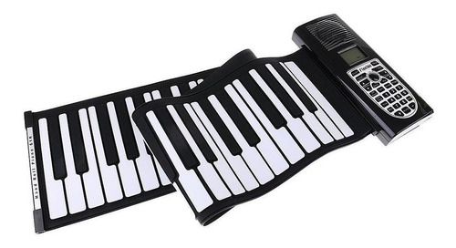 Imagen 1 de 1 de Teclado Piano Electrico Hand Roll Flexible 61 Teclas