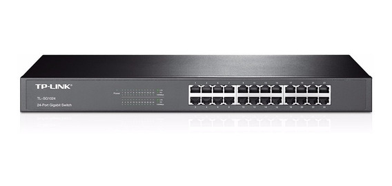 Switch 24 Puertos Tp-link Tl-sf1024 10/100 4.8gbps Rackeable