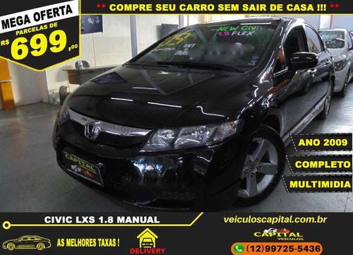 Imagem 1 de 12 de Honda Civic 1.8 Lxs 16v Flex 4p Manual