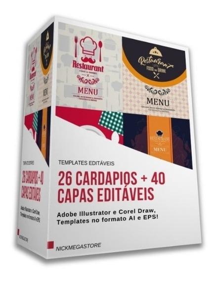Modelos De Cardápio Editável Para Restaurantes