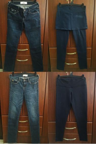 Lote De 12 Pantalones Y Calzas Talles 10, 12, 14, 16