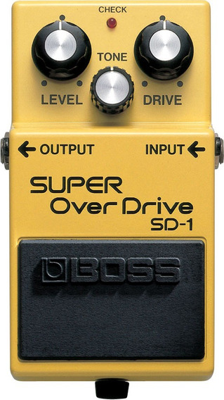 Pedal Boss Sd-1 Super Overdrive Sd1 Original - Nota Fiscal