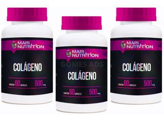 Kit Colágeno Hidrolisado - 180 Caps + Bônus - Mais Nutrition