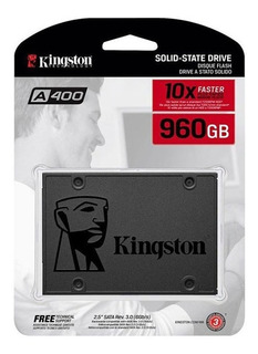 Disco Ssd Kingston 960gb A400 Estado Sólido 10x Sata