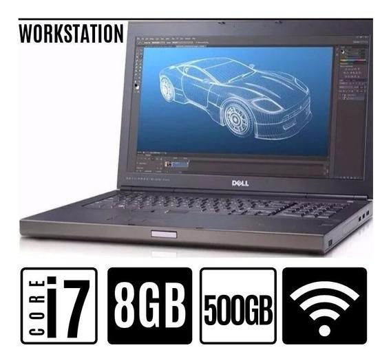 Notebook Dell Core I7 4° Geração 8gb Hd500 A Pronta Entrega