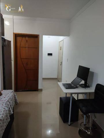 Kitnet Com 1 Dormitório À Venda, 47 M² Por R$ 145.000,00 - Guilhermina - Praia Grande/sp - Kn0447