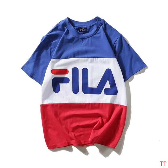Camisetas Fila (varios Colores)