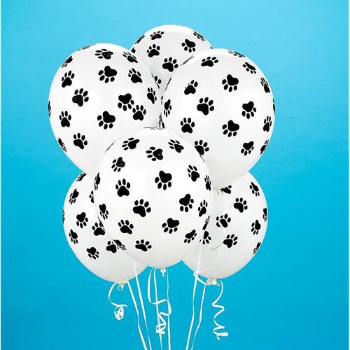 Birthdayexpress Impresión De La Pata Globos (6 Conde) Famili