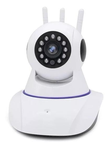 Câmerawifi Hd 720p Interno Com Infra Vermelho Led Ip 1.3mp
