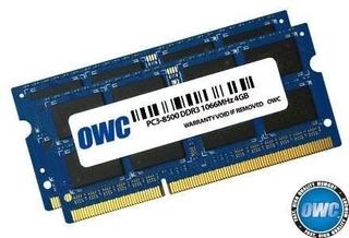 Owc 8.0 Gb (2x 4gb) Pc8500 Ddr3 1066 Mhz Kit De Actualizació