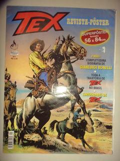 Tex Revista Poster 1 Mythos Editora 2001