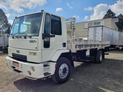 Imagem 1 de 4 de Caminhão Toco Ford Cargo 1317 2011 Carroceria 7mts