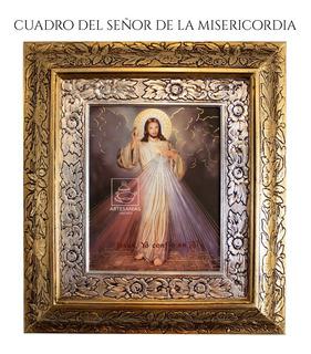 Cuadro Señor De La Misericordia 45x40 Cm
