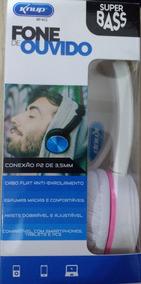 Headphone Fone De Ouvido Dobravel Super Bass Kp-412