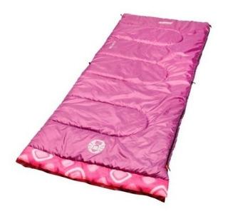 Bolsa De Dormir 66 Y 168 Cm Niña Rosa Plum Fun Coleman