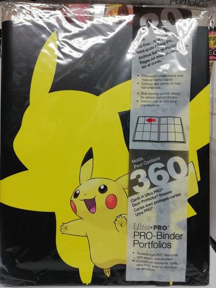 Carpeta Pokémon Picacho. 9 Espacios