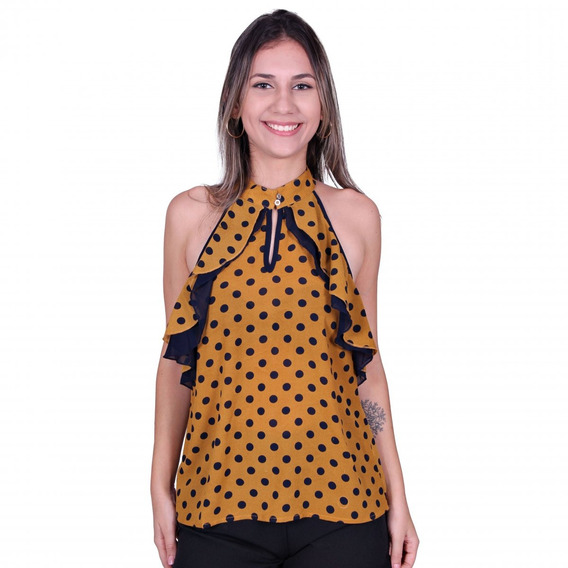 Blusa Valentina V-12160 - Asya Fashion