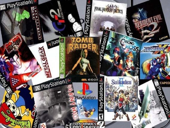 Kit 5 Jogos Ps1, Escolha Sua Lista