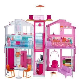 Casa De Juguete Para Niñas Dia De Campo Barbie Envio Inmedia