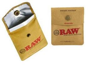 Cinzeiro De Bolso Raw - Pronta Entrega