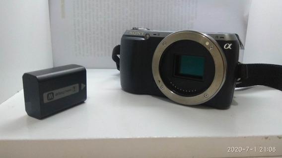 Sony Mirrorless Nex C3 - Só 853 Clicks .só Corpo (parece F3)