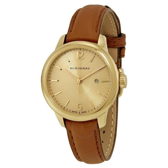 Reloj Burberry Mujer Clásico Bu10101 Original Importado