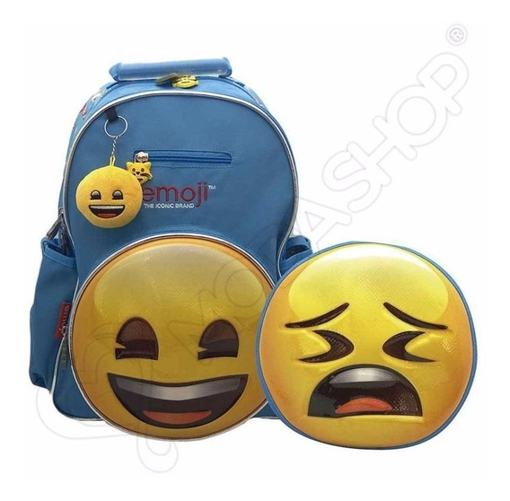 Mochila Emoji Espalda 16 Pulgadas Original Cresko