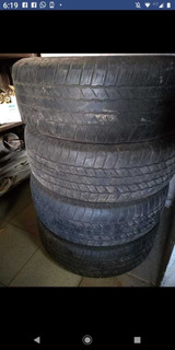 4 Cubiertas Usado N° 18 Para Toyota Hilux (poco Uso)