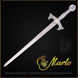 Espada Templaria Ceremonial Cruzada Templarios Marto Toledo