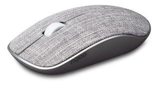 Rapoo 3500pro - Ratón Óptico Inalámbrico Para Pc, Color Gris