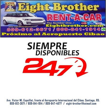 Eight Brother Rent Car, Alquiler, Autos, Coches, Yipetas, Rd
