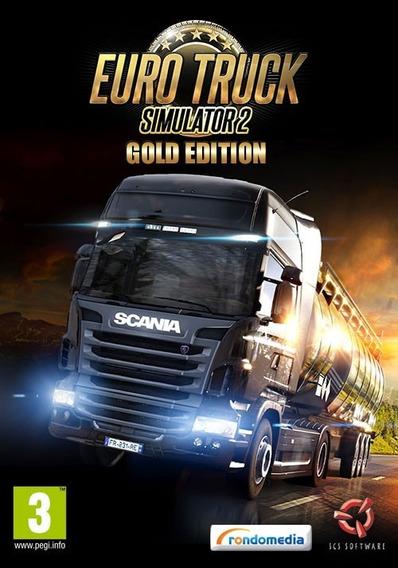 Euro Truck Simulator 2 Gold Pc - ( Steam Key )