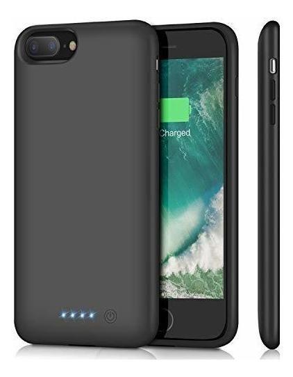 Hetp Carcasa Para iPhone 8 Plus Y 7 Plus 8500 Mah Batería Re