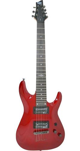 Guitarra Sgr By Schecter C-7 Rojo