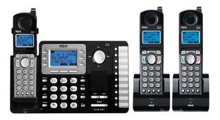 Telefono Empresarial R C A 2 Lineas + 2 Tel Inalambricos.