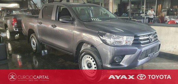 Toyota Hilux Dx 2019 Gris Oscuro 0km