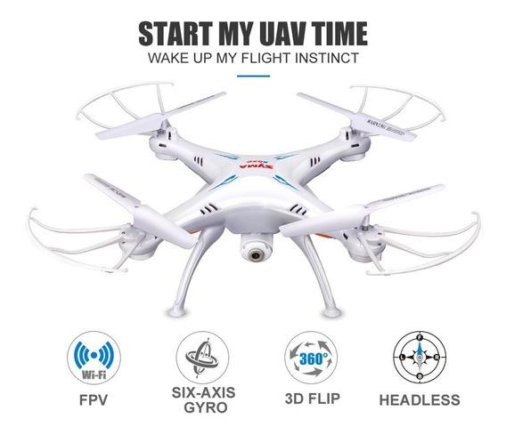 Drone Syma X5sw Com Camera Hd Fpv Wifi Pronta Entrega F Grat